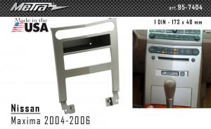 Переходная рамка Nissan Maxima Metra 99-7404