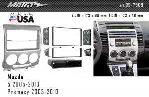 Переходная рамка Mazda 5, Premacy Metra 99-7509