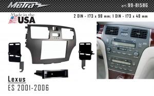 Переходная рамка Lexus ES Metra 99-8158G