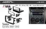 Переходная рамка Toyota Corolla Metra 99-8223
