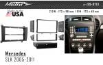 Переходная рамка Mercedes SLK-klasse Metra 99-8713