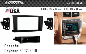 Переходная рамка Porsche Cayenne Metra 99-9604B