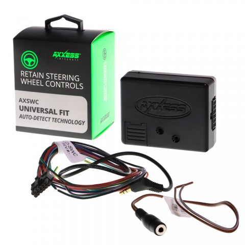 Адаптер кнопок на руле универсальный (CAN/резистивный) Metra AXSWC