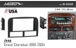 Переходная рамка Jeep Grand Cherokee Metra 95-6546B