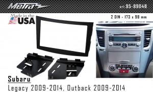 Переходная рамка Subaru Legacy, Outback Metra 95-8904B