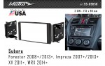 Переходная рамка Subaru Forester, Impreza, XV, WRX Metra 95-8905B