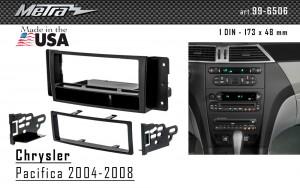 Переходная рамка Chrysler Pacifica Metra 99-6506