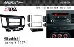 Переходная рамка Mitsubishi Lancer X Metra 99-7011