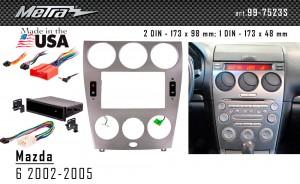 Переходная рамка Mazda 6 Metra 99-7523S