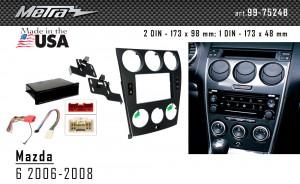 Переходная рамка Mazda 6 Metra 99-7524B