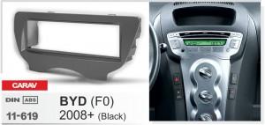 Переходная рамка BYD F0 Carav 11-619