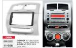 Переходная рамка Toyota Urban Cruiser, Scion xD Carav 11-666