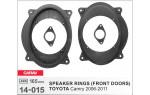 Проставки под динамики Carav 14-015  для автомобилей Toyota Camry