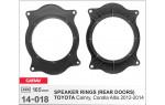 Проставки под динамики Carav 14-018  для автомобилей Toyota