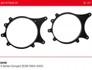 Проставки под динамики ACV 271023-01 для автомобилей BMW 3 Series Compact