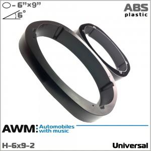 """Проставки (подиумы) для динамиков универсальные 6""""x9"""" AWM H-6x9-2"""