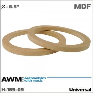 Проставки под динамики универсальные AWM H-165-09