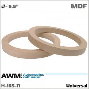 Проставки под динамики универсальные AWM H-165-11