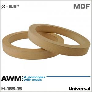 Проставки под динамики универсальные AWM H-165-13