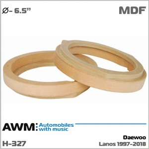 Проставки под динамики AWM H-327 Daewoo Lanos